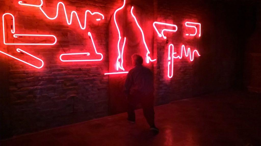 "Neon Graffiti for ""Dog Eat Dog"" movie 2015"