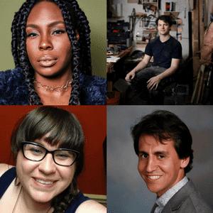 Arts & Scraps: Ang, Trice Clark, Brian Quintilla, David King
