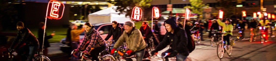 The Light Bike Parade