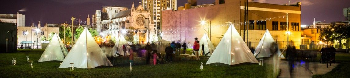 Frontier Town: A Tent Camp for Children in the Urban Wild