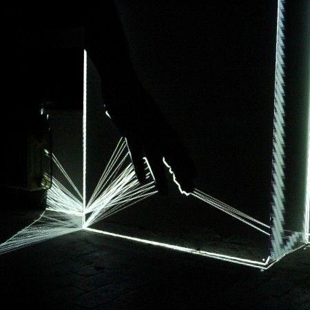 interactive audiovisual sculpture B-Seite | Festival für visuelle Kunst und Jetztkultur | Mannheim | March 2016