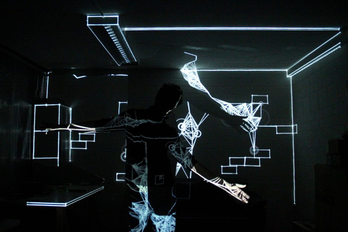 Mayer + Empl + 3D Architectural Space Mapping at Dlectricity
