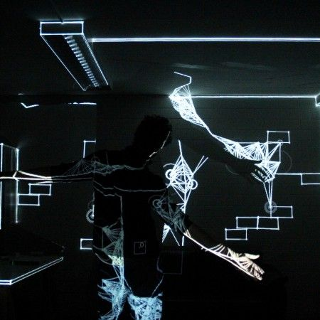 interactive audiovisual sculpture Studio7 | Munich | November 2015