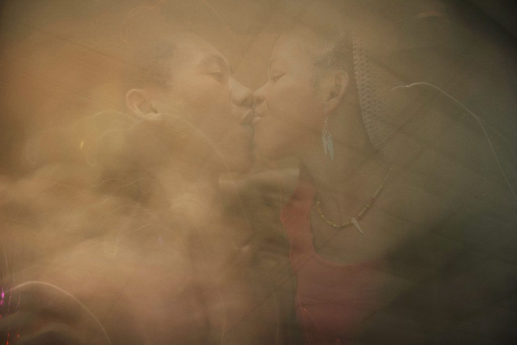 Kiss - still from the Black Love Project