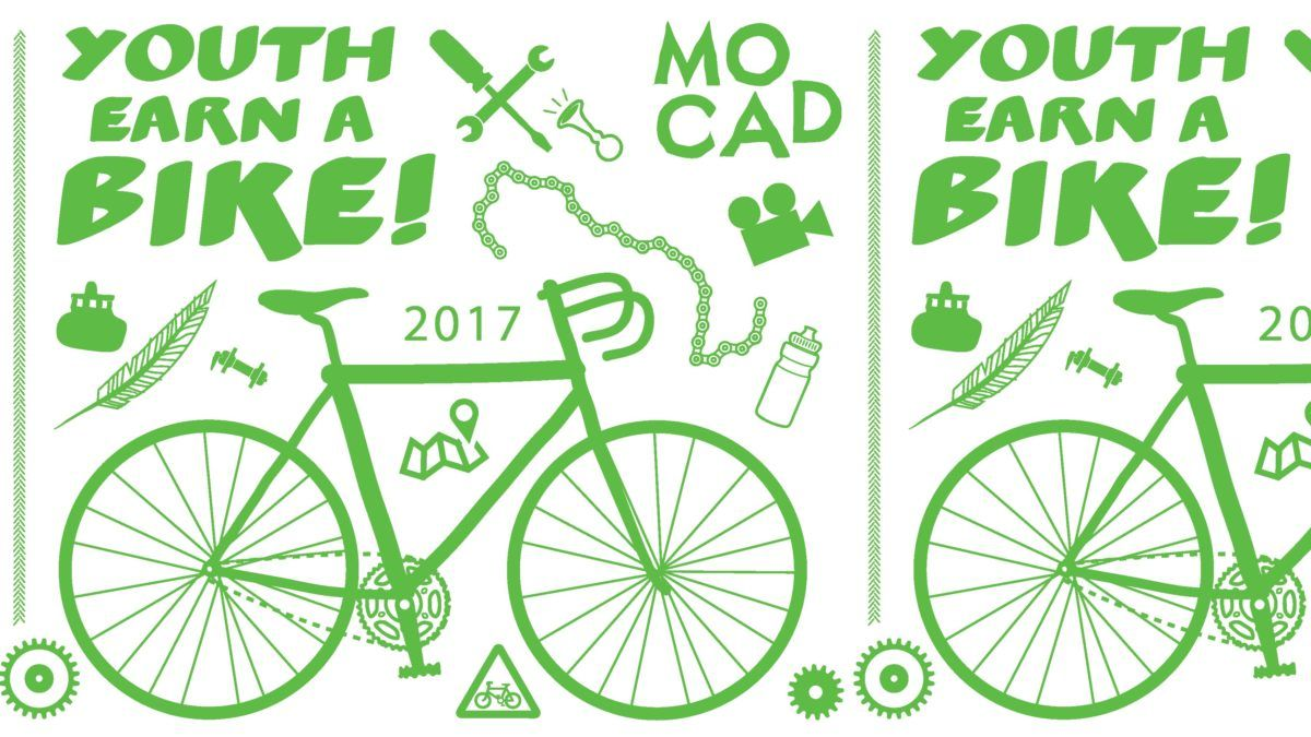 MOCAD Youth Earn a Bike Program