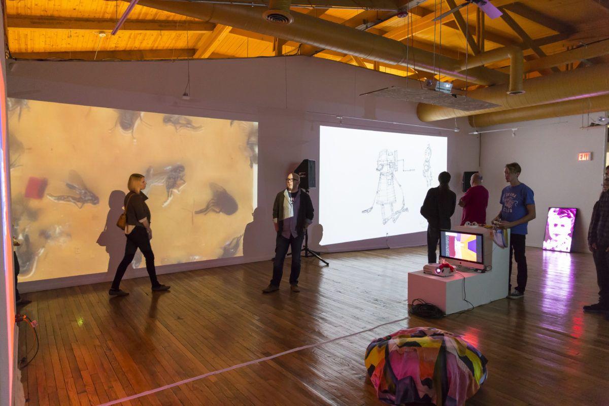 Michaela Mosher: Artist and Curator at the N'Namdi Center