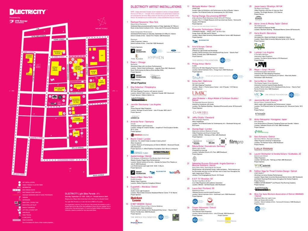 DLECTRICITY 2017 MAP