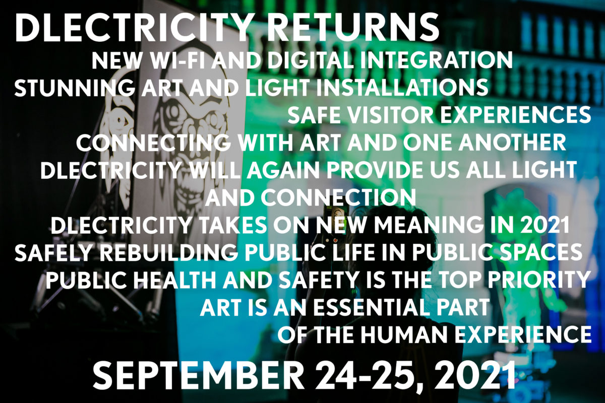 DLECTRICITY Returns – September 24-25, 2021