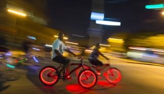 DIY Tip for the Electricity Light Bike Parade