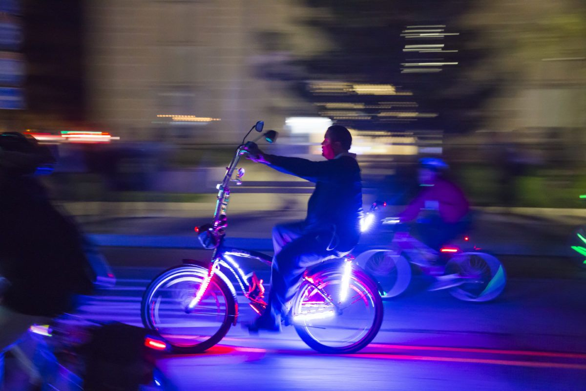 The Dlectricity Light Bike Parade is Back