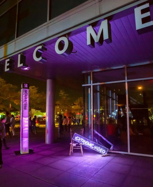 DLECTRICITY Sites #3 and 4: The Wayne State Welcome Center and Woodward | Warren Greenspace